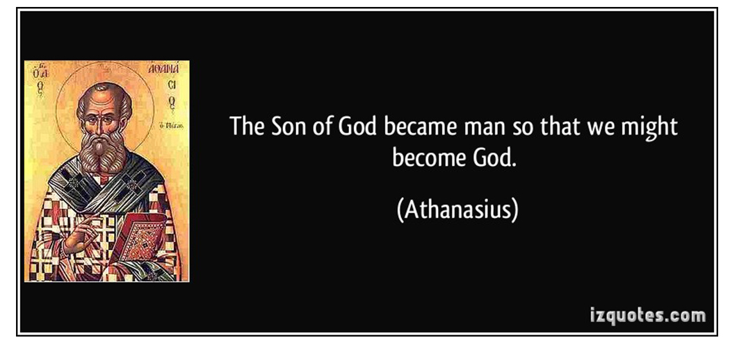 """What Does """"So that We Might Become God"""" Mean?"""